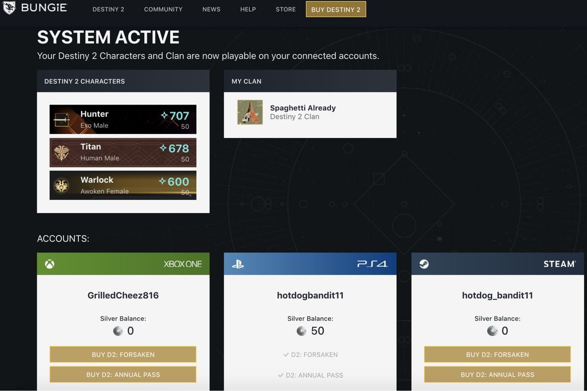 How To Enable Cross Save With Your Destiny 2 Data The Verge