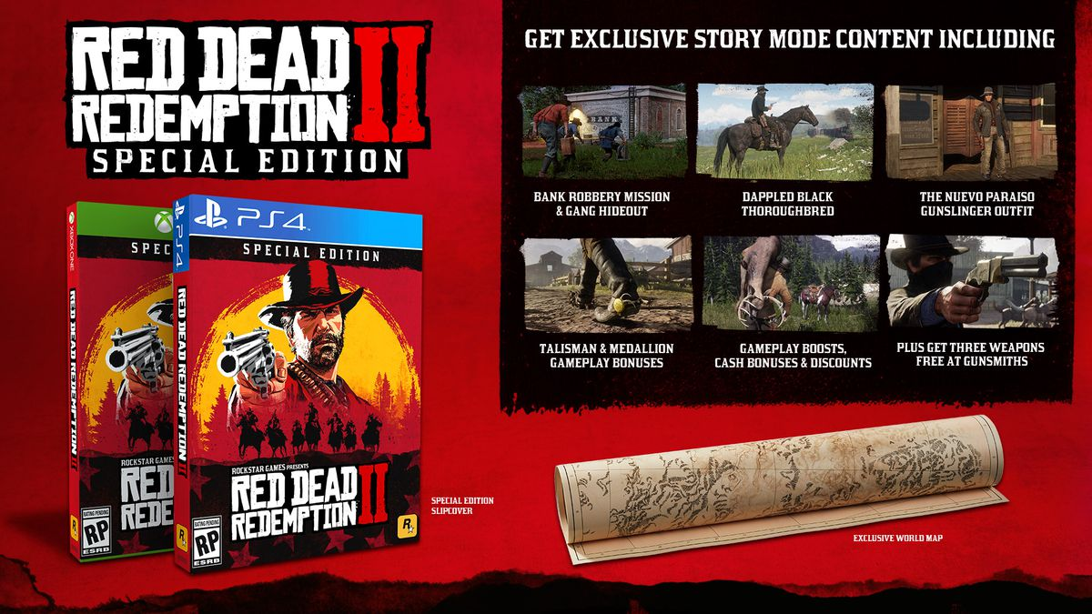 Pubg Ps4 Release Date Price Revealed Preorder Bundles: Red Dead Redemption 2's Special Editions Revealed