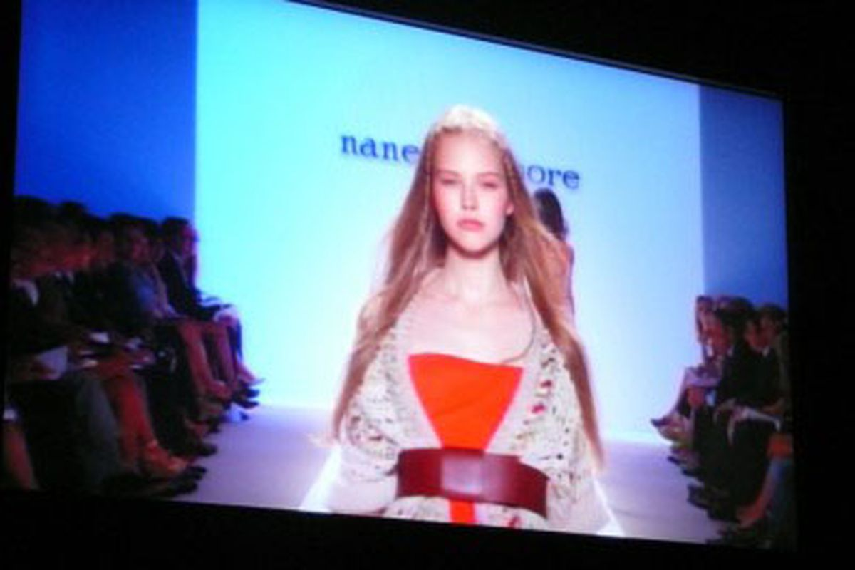 A look from Nanette Lepore's spring '09 collection