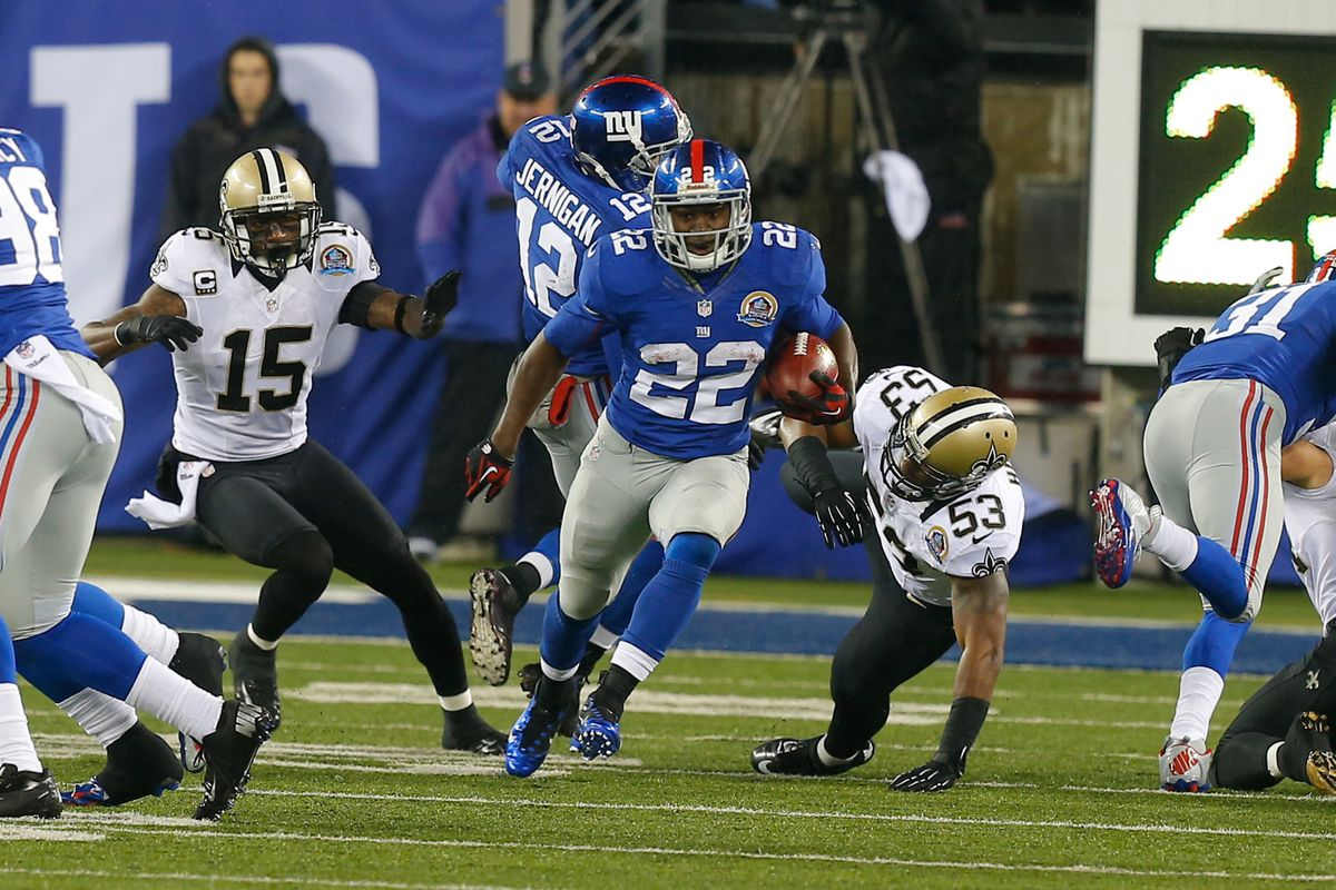 David Wilson provided the Giants with an explosive kickoff returner