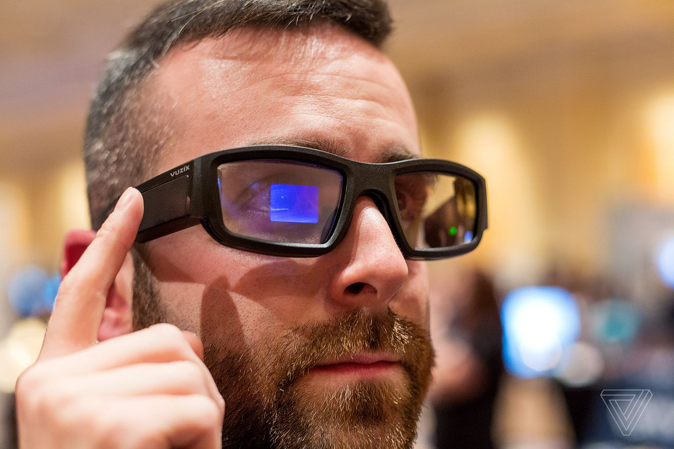 vuzix blade ar glasses are the next gen google glass we ve all been waiting for