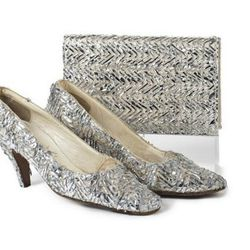Chanel  Shoes & Matching Clutch