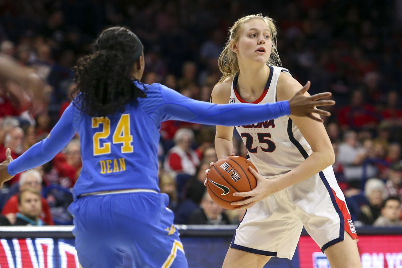 COLLEGE BASKETBALL: JAN 27 Women's UCLA at Arizona
