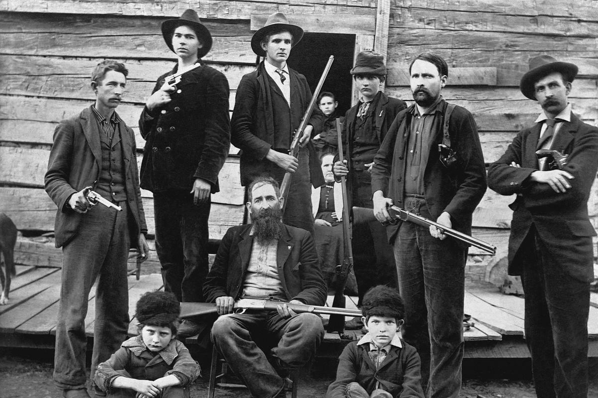 Portrait of the Hatfield Family Men