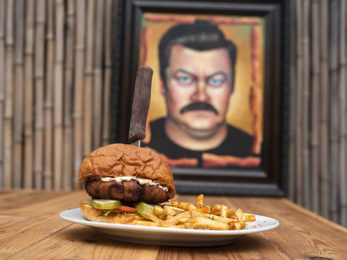 The Ron Swanson Burger at Whisk