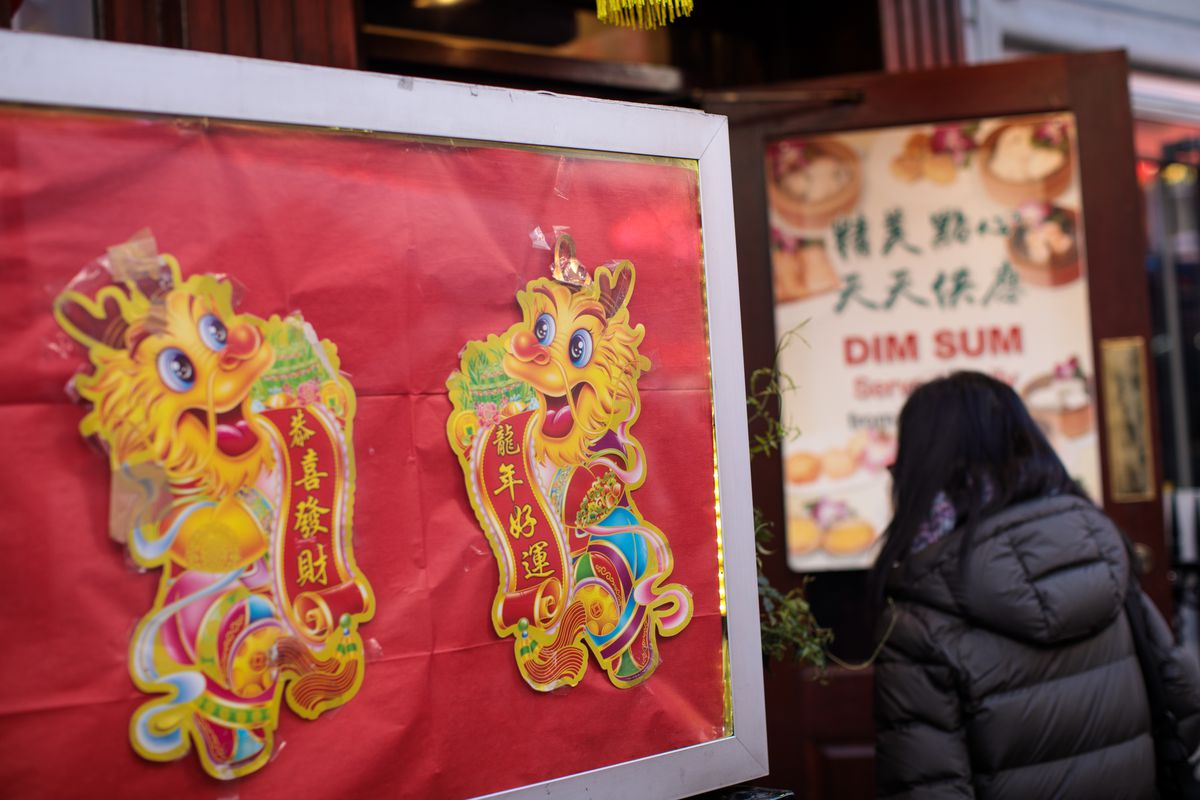Preparations Are Made For Chinese New Year Of The Dog