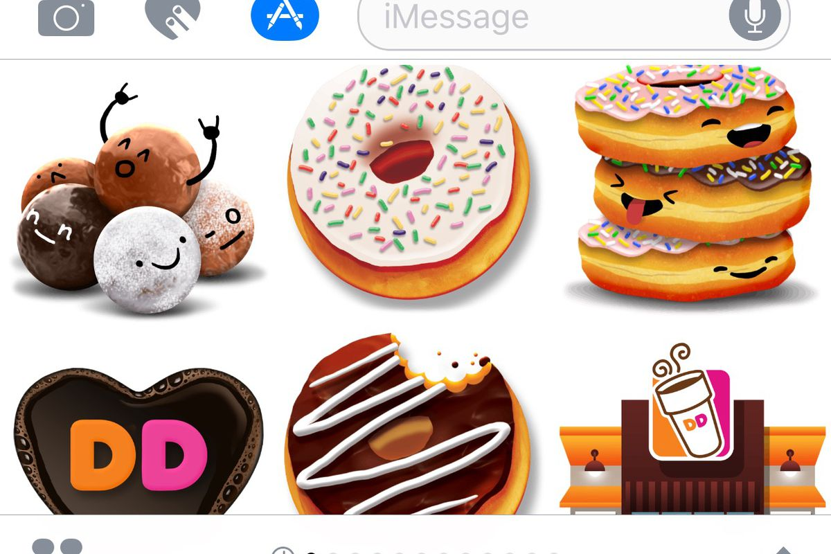 Your Favorite Food #Brands Have Taken Over Apple\'s iMessage - Eater