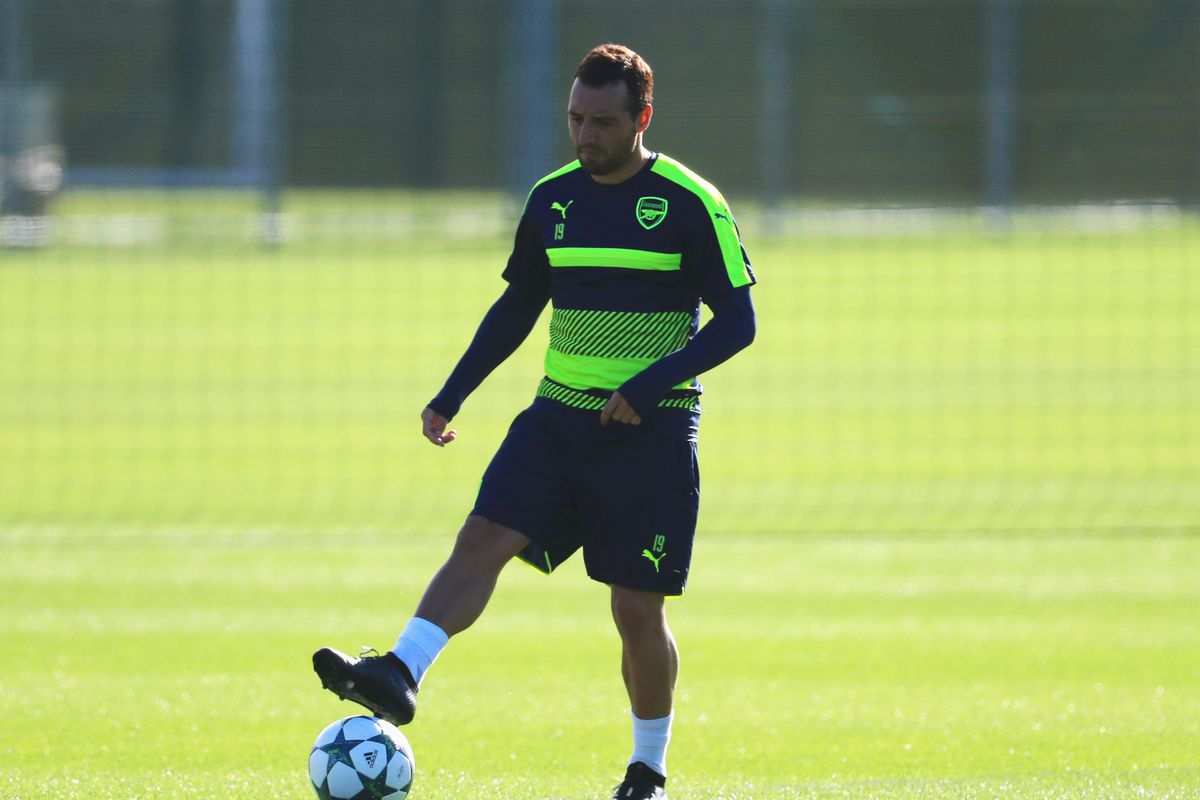 Arsenal's Santi Cazorla targets January return after amputation fears