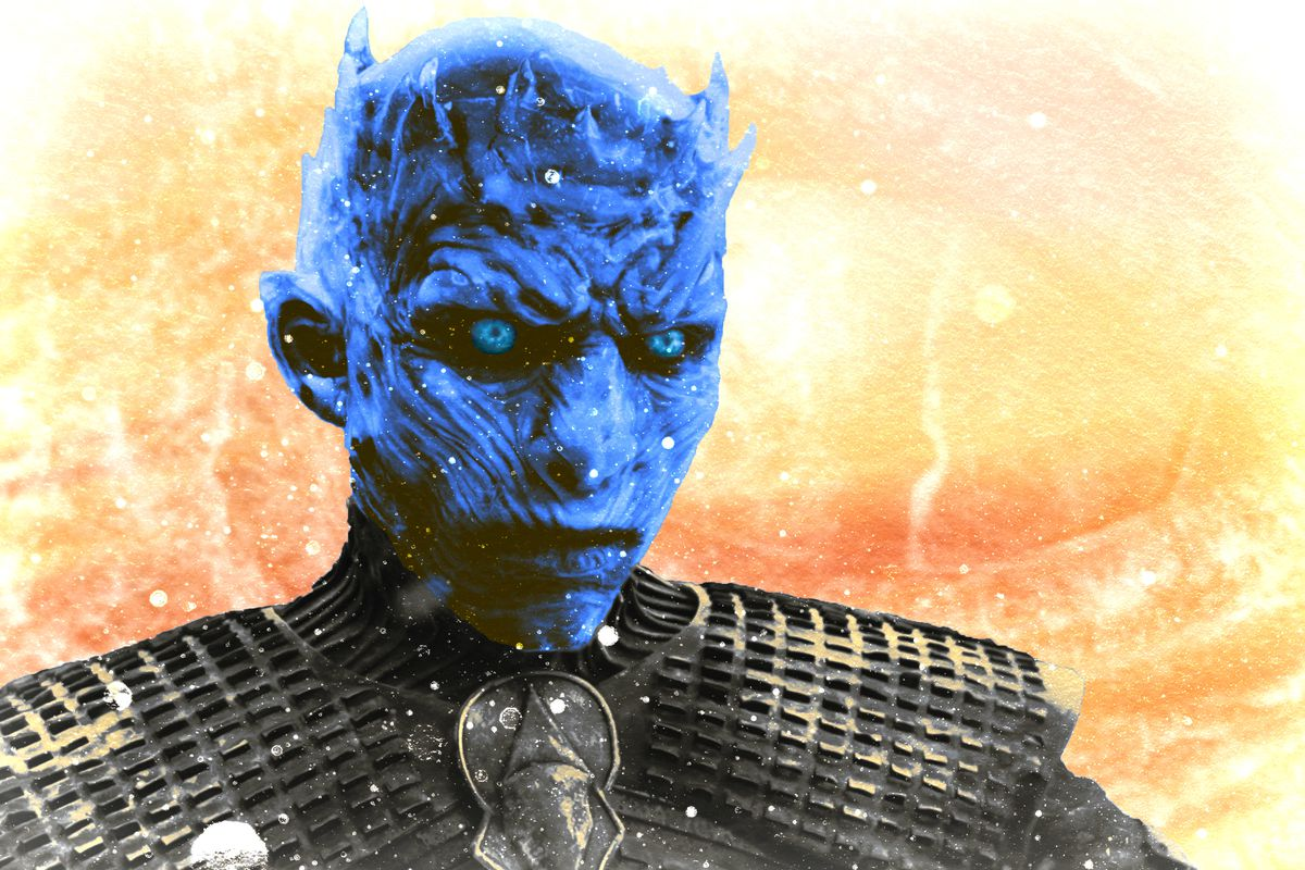 The Night King Finally Looks Like A Final Boss The Ringer