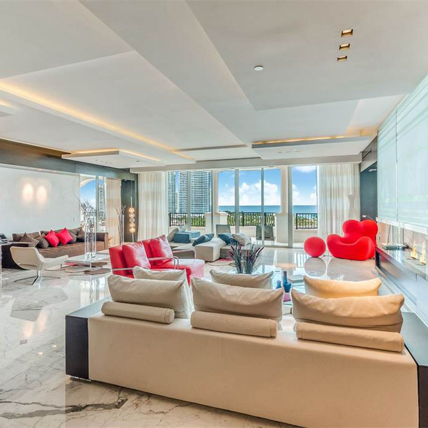 Extravagant Fisher Island penthouse asks $15M - Curbed Miami