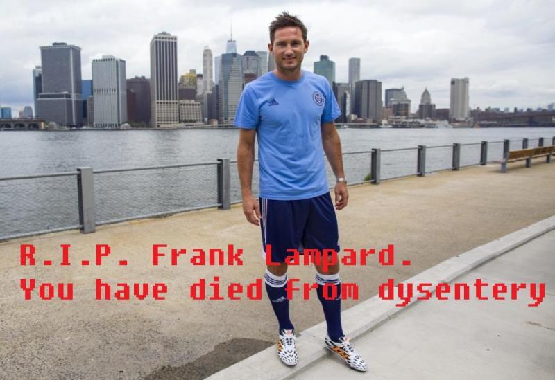 RIP Frank Lampard