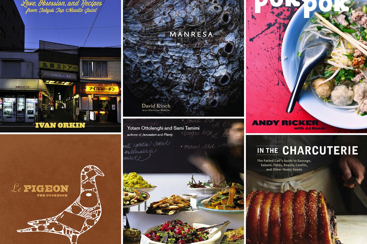 Of the above, only Manresa and Ottolenghi are the finalized covers. Everything else subject to change.