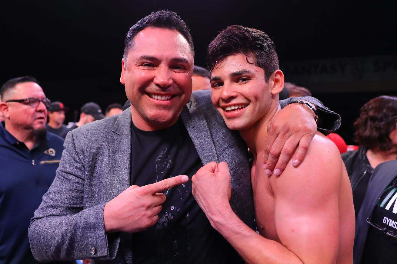 Garcia challenges Golden Boy to release him from contract