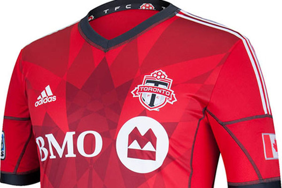 huge selection of 3c408 2abd9 A Closer Look at Toronto FC's 2013 Kit - Waking The Red