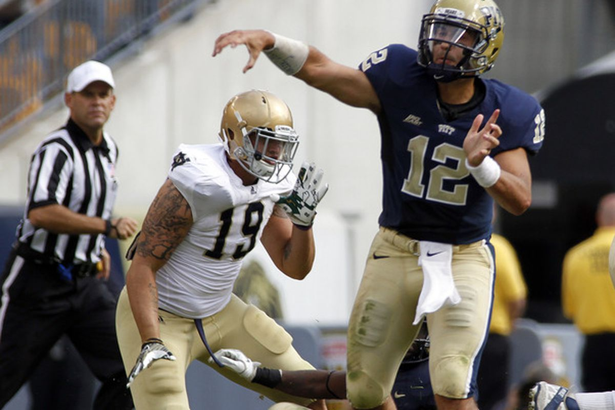 There's a good chance Tino Sunseri begins the season as the starter (Photo by Justin K. Aller/Getty Images)