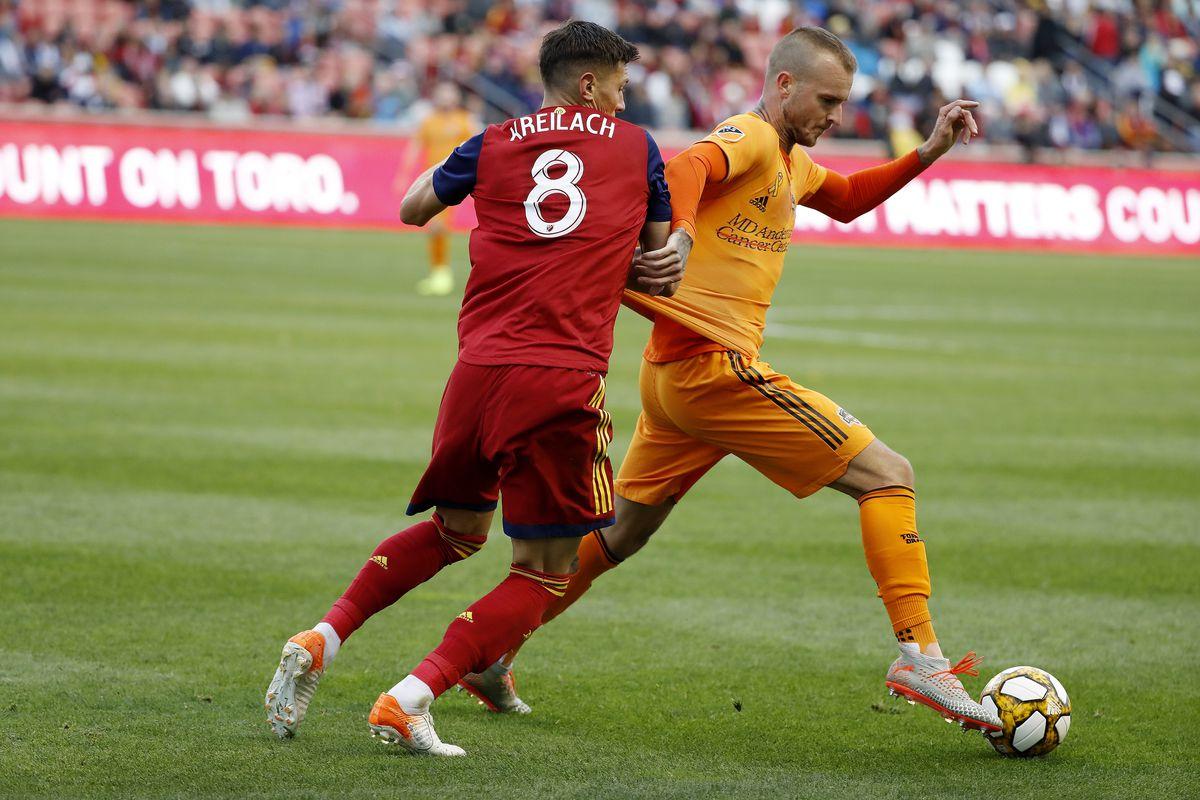 Houston Dynamo not enough against Real Salt Lake at Rio Tinto