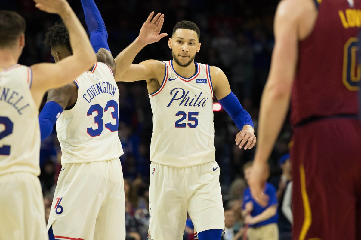 bcf961c029b NBA playoff standings  Sixers overtake Cavaliers by force - SBNation.com