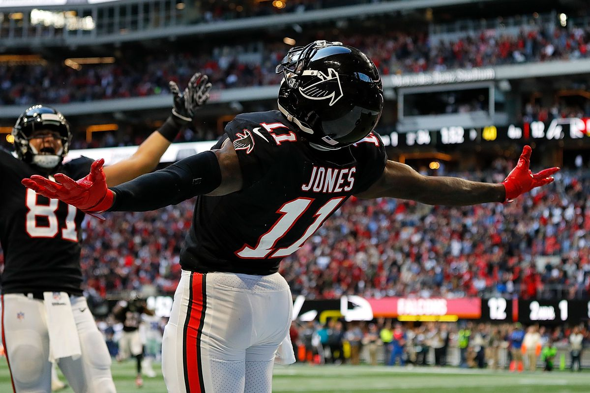 Julio Jones Doesn T Believe The Falcons Need To Trade For