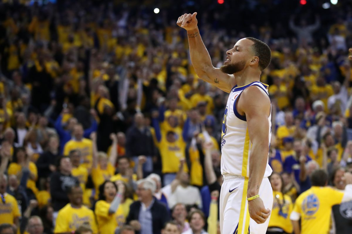 5d27286361a2 NBA Playoffs  Steph Curry made it clear that the Warriors are his ...