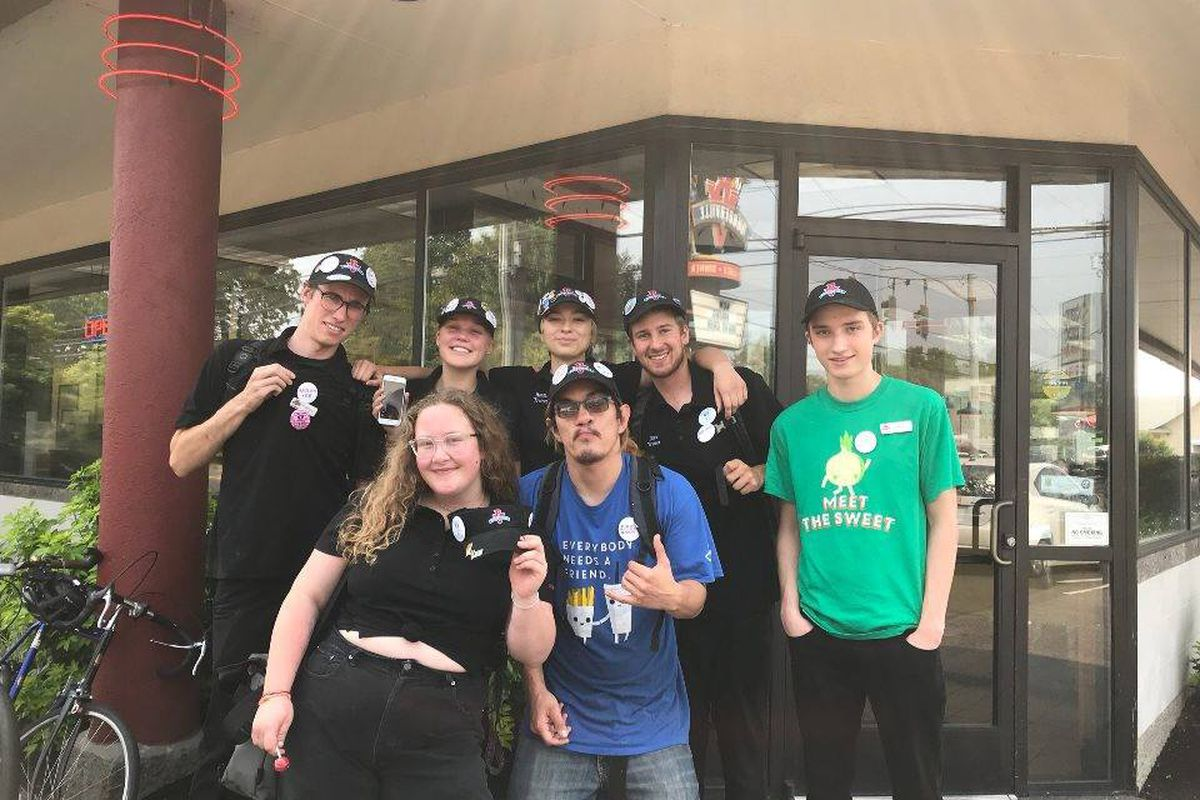 the burgerville workers union has reportedly filed charges against