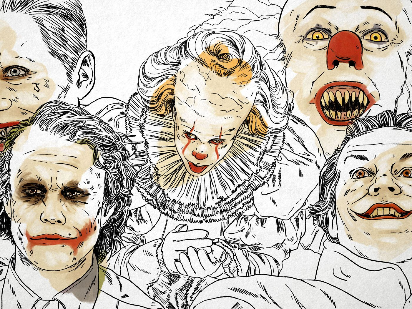 Let S Put A Smile On That Face The Evolution Of Clowns In