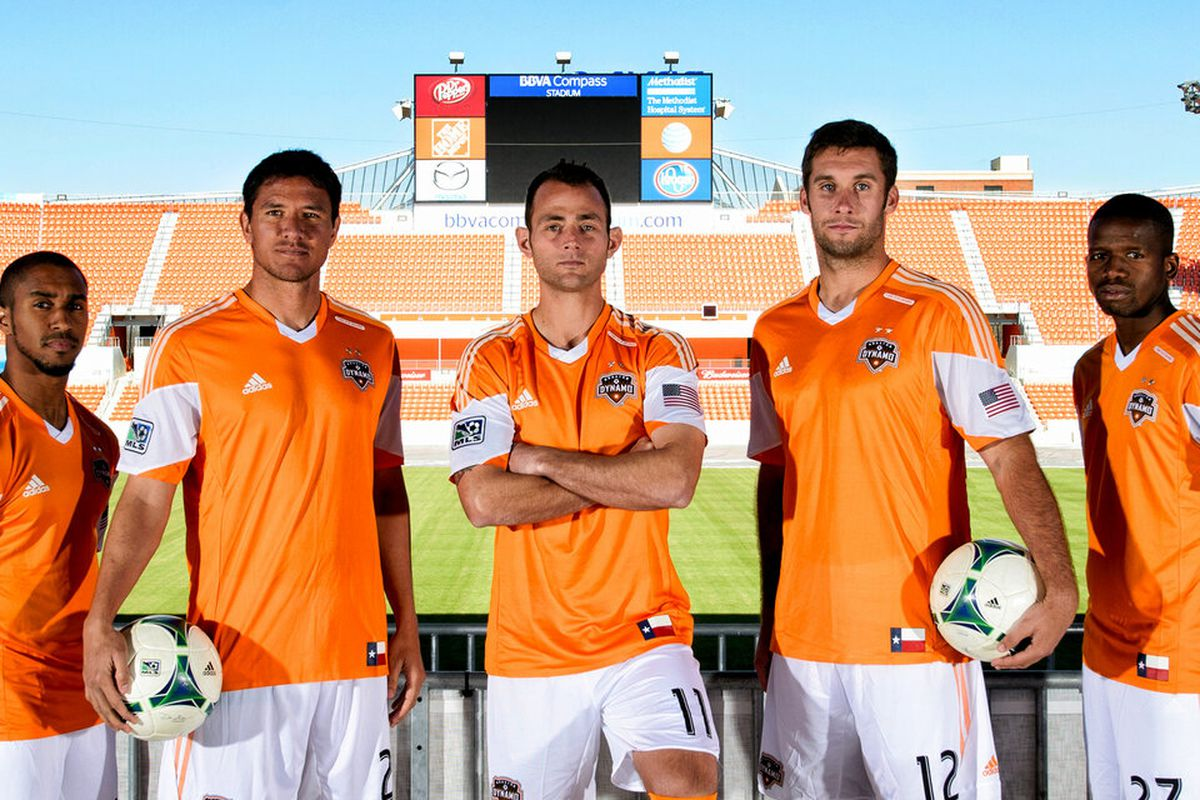 pretty nice 9204c e516a Houston Dynamo have new jerseys and they're generic ...