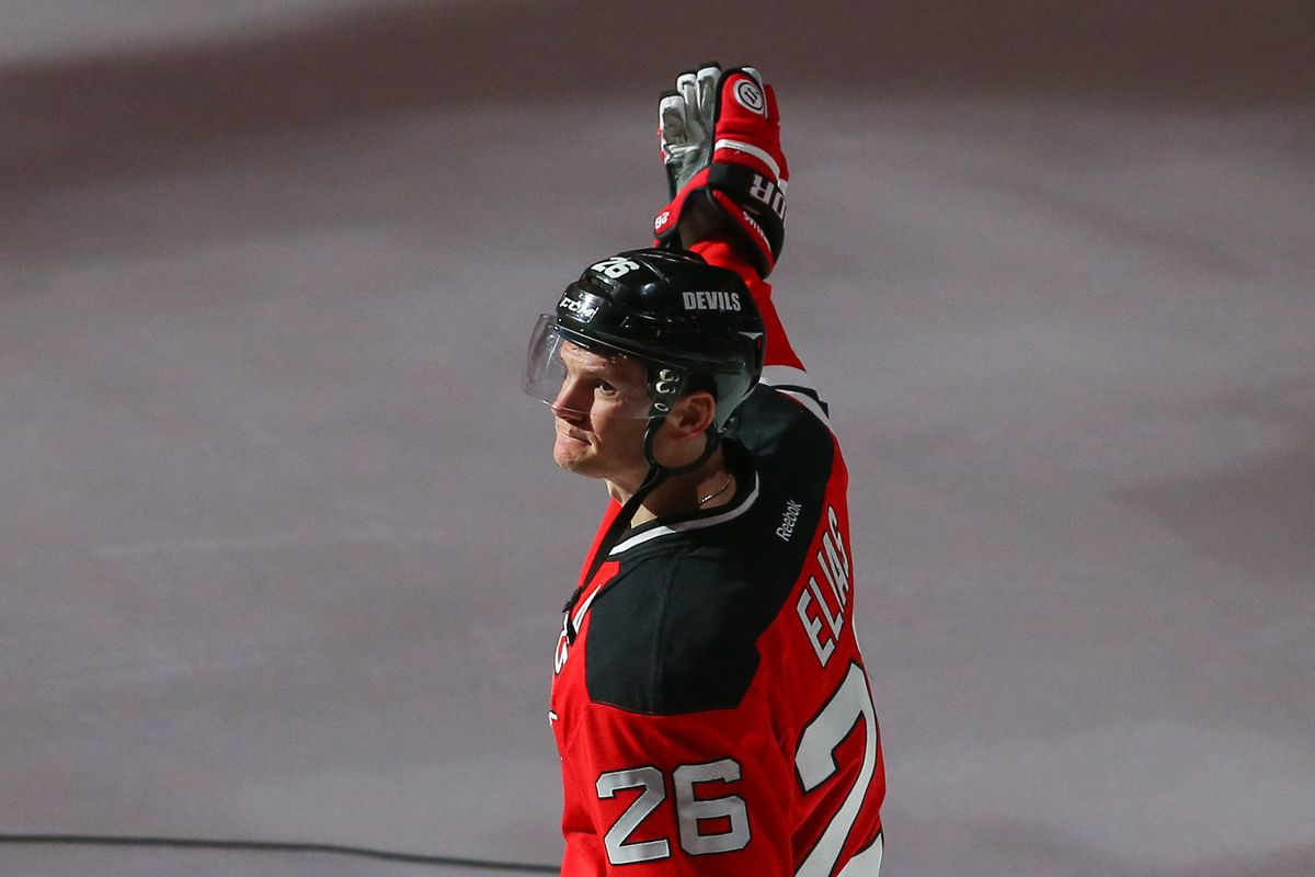 Patrik Elias was named the first star of the game on Friday due to his 400th career goal.  See how the goal happened.