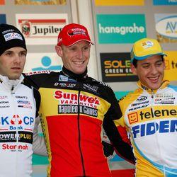 Klaas wins the race