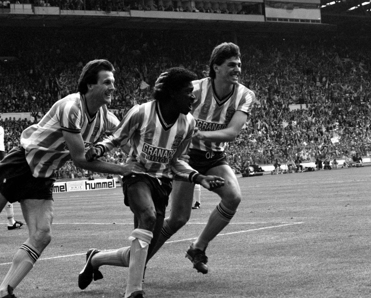 Soccer - FA Cup - Final - Tottenham Hotspur v Coventry City - Wembley Stadium