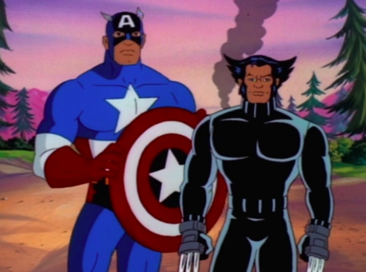 Old Soldiers: Wolverine and Captain America in X-Men: The Animated Series