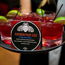 Mmm, Patron cocktails.