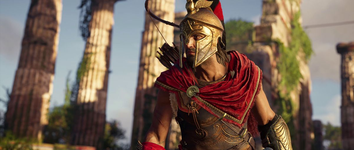 Assassin's Creed Odyssey - assassin Alexios in armor
