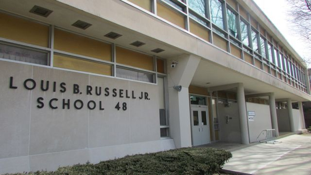 School 48 has not been rated higher than a D in six years.