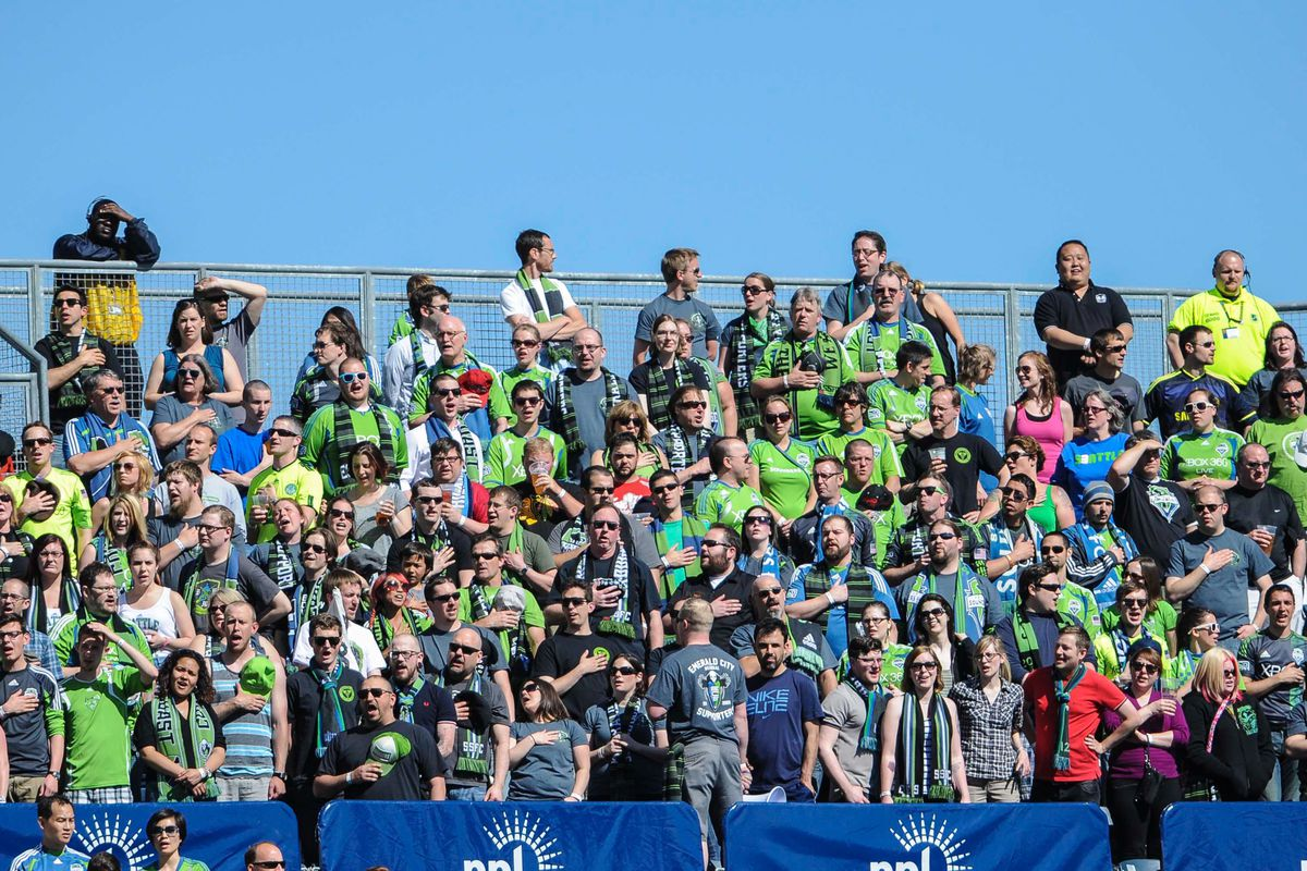 It's what Sounders do