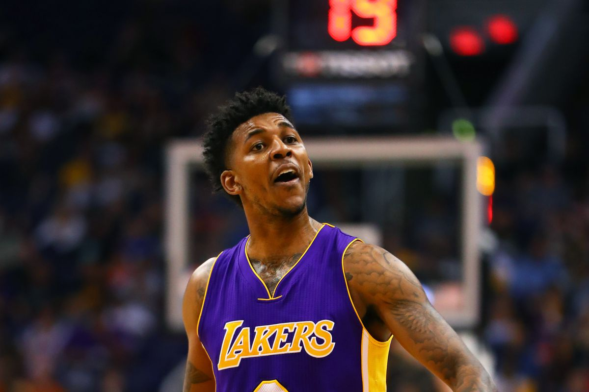 new style 4c848 671fd Nick Young's first interview with Warriors media was classic ...