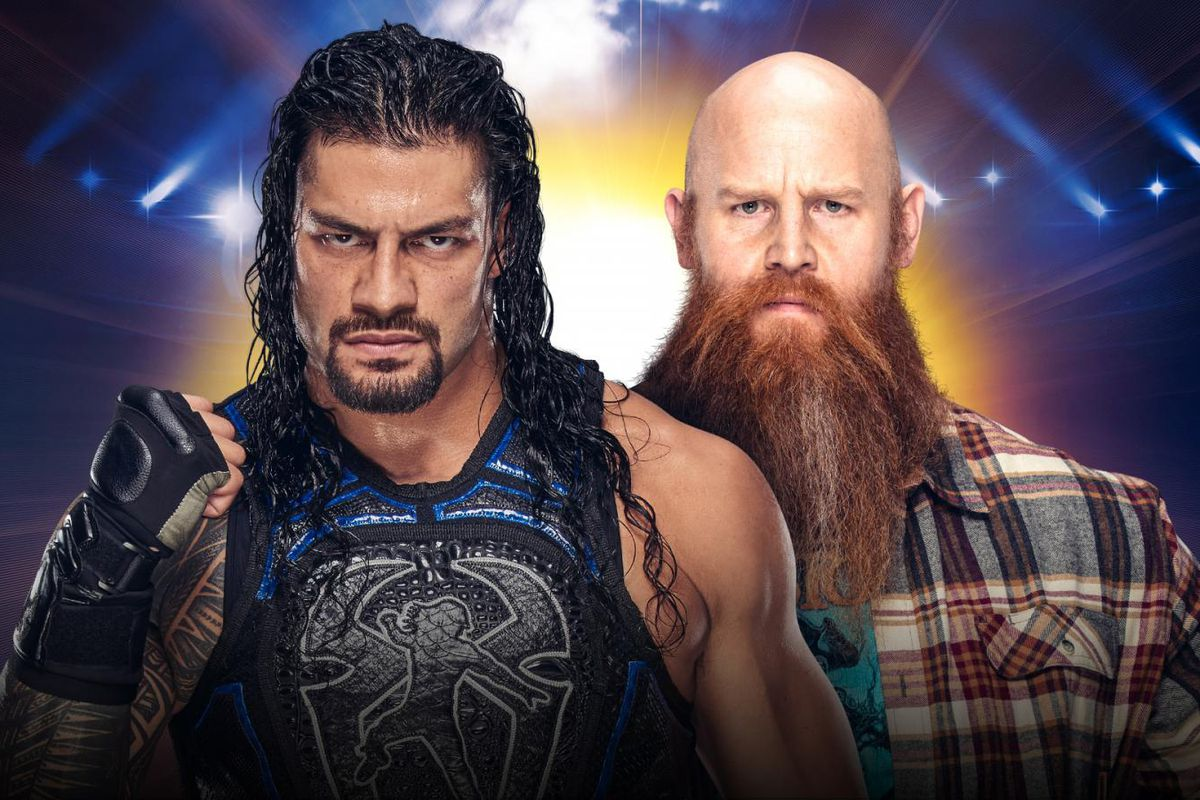 Image result for erick rowan roman reign clash of champions