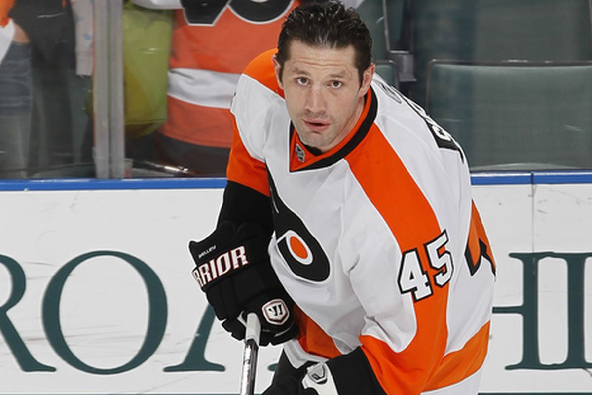 Sorry, we didn't have a file photo of him wearing a Jackets' sweater. Just squint and pretend it's a road jersey.