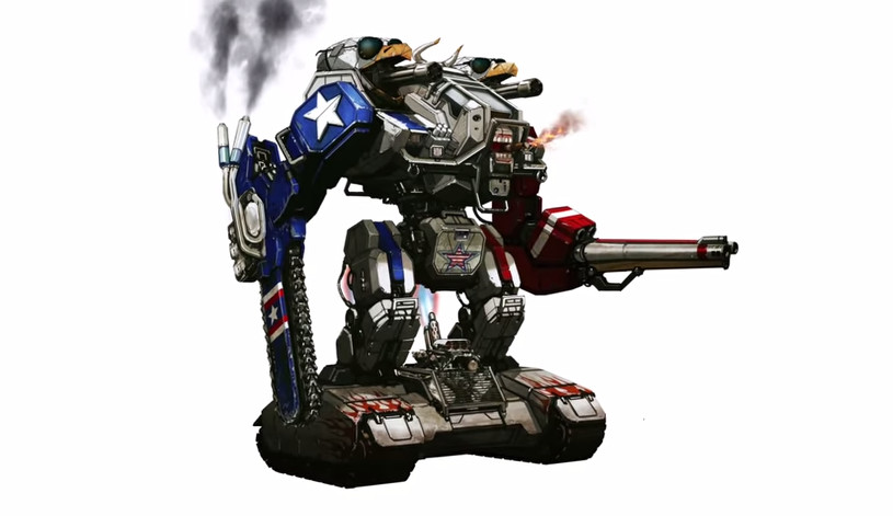 Heres The Giant Flaming Chainsaw Robot The Usa Is Building To Robo