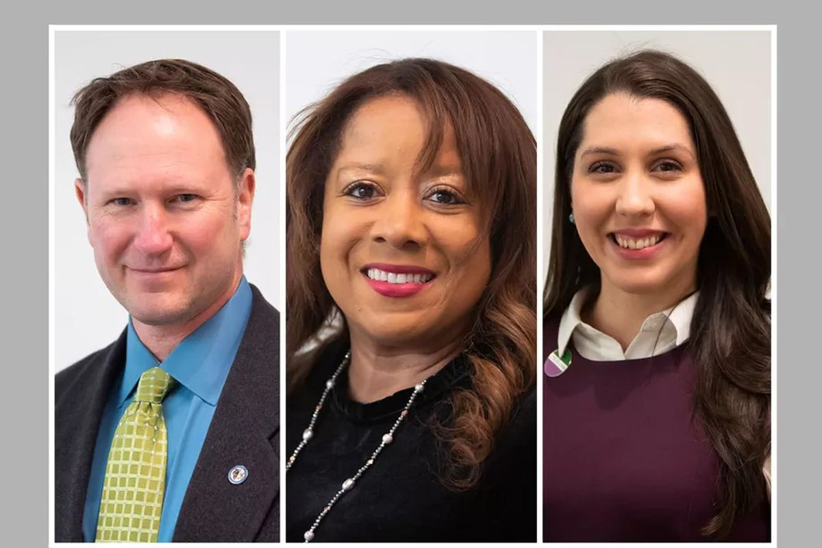 """M. Cameron """"Cam"""" Davis, Kimberly Neely DuBuclet and Eira L. Corral Sepúlveda are endorsed by the Chicago Sun-Times for the Metropolitan Water Reclamation Districtin the general election."""