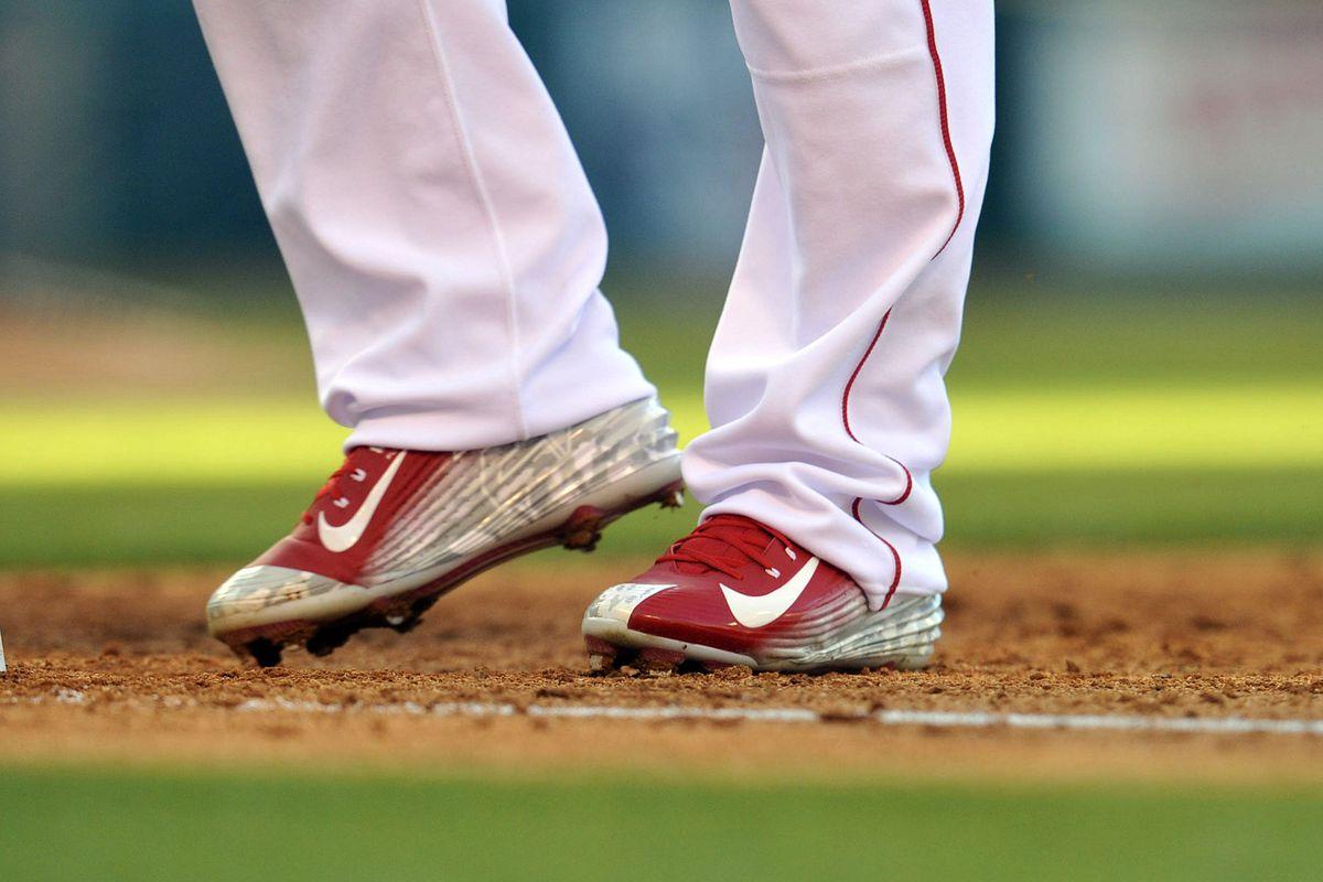d11e63d31f0 Mike Trout Debuts His New Nike Shoe - Halos Heaven