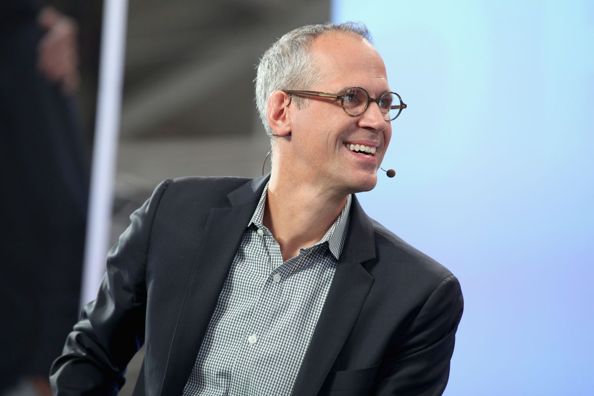 Gimlet Media co-founder Alex Blumberg at a Ford event in San Francisco, August 2017