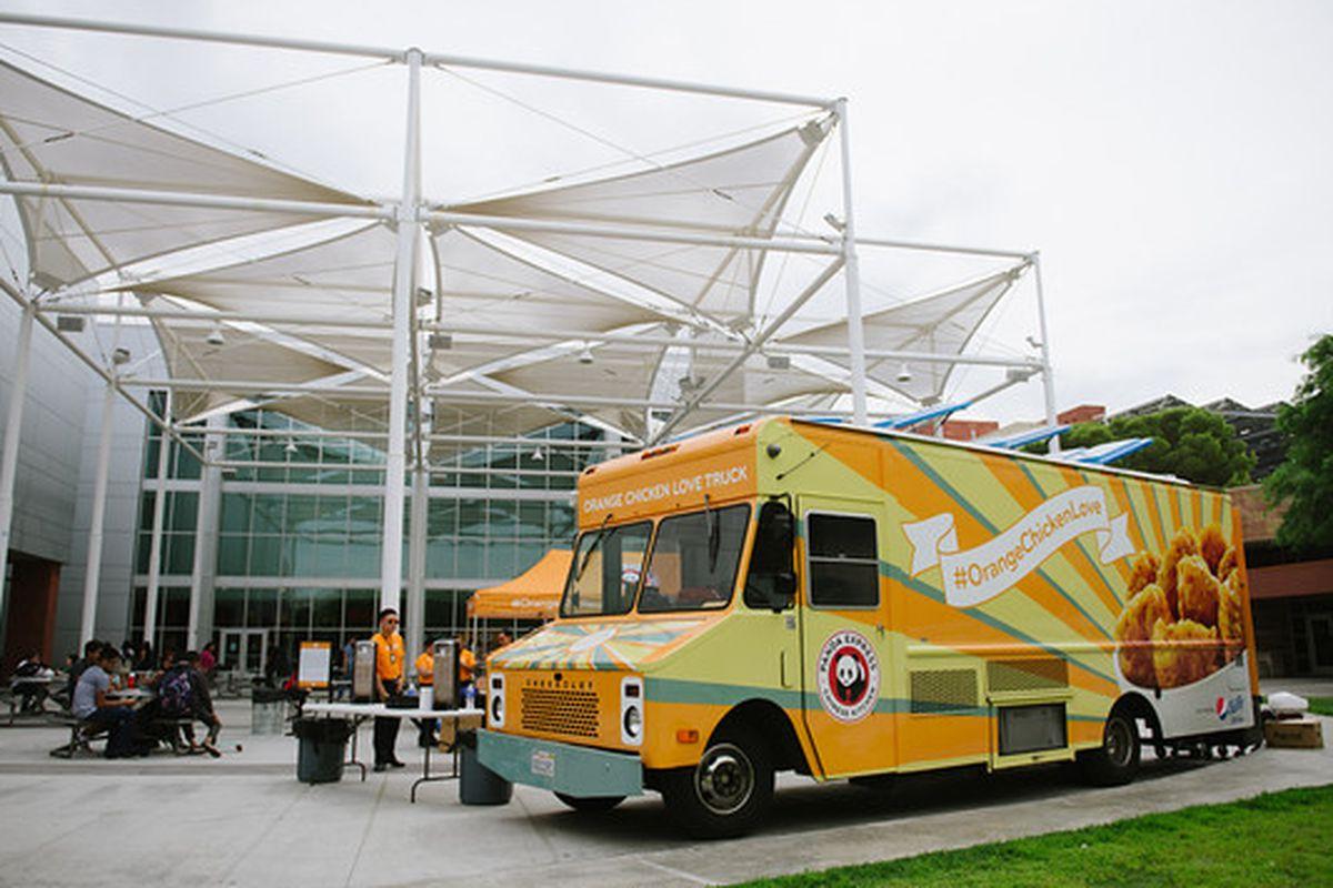 Panda Express' Orange Chicken Love Truck
