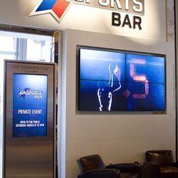 The entrance to EA Sports Bar.