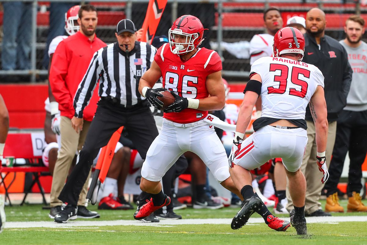 COLLEGE FOOTBALL: APR 22 Rutgers Spring Game