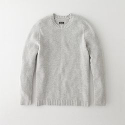 Men's ribbed sleeve crewneck sweater (colors may vary), $178 (was $295)