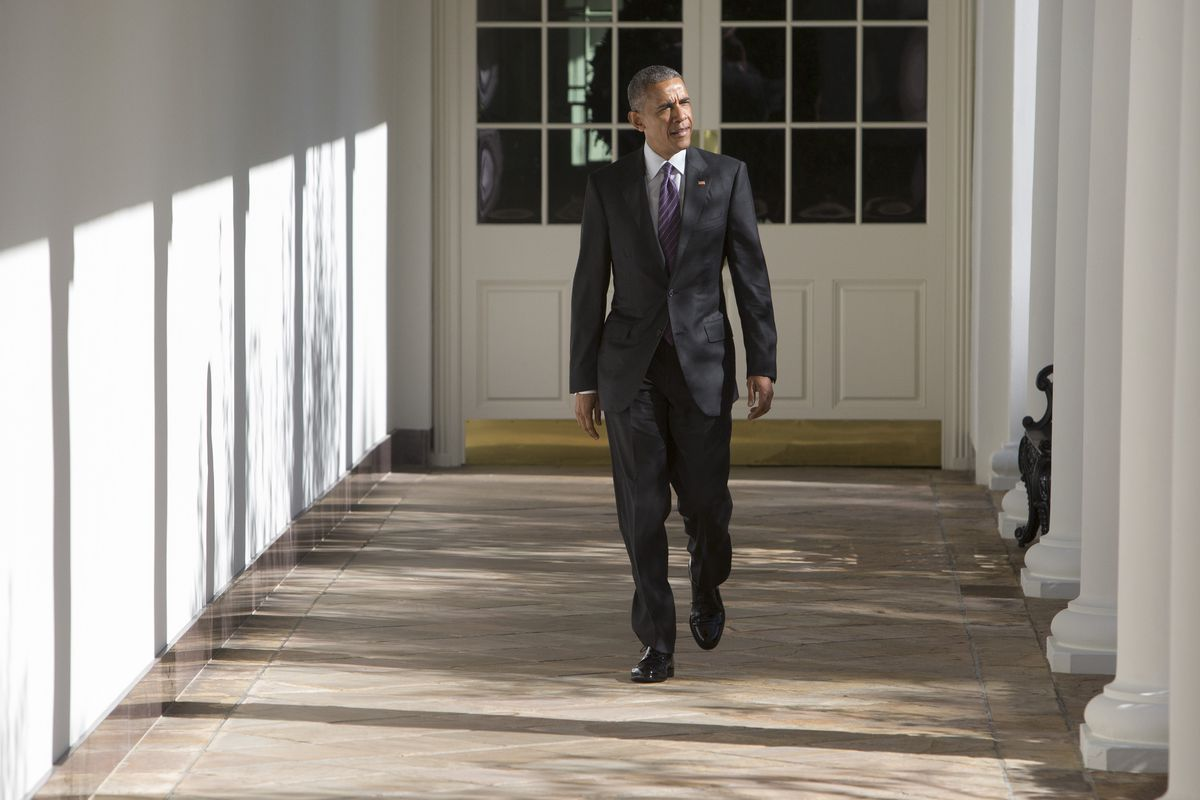 President Obama Spends Election Day at The White House