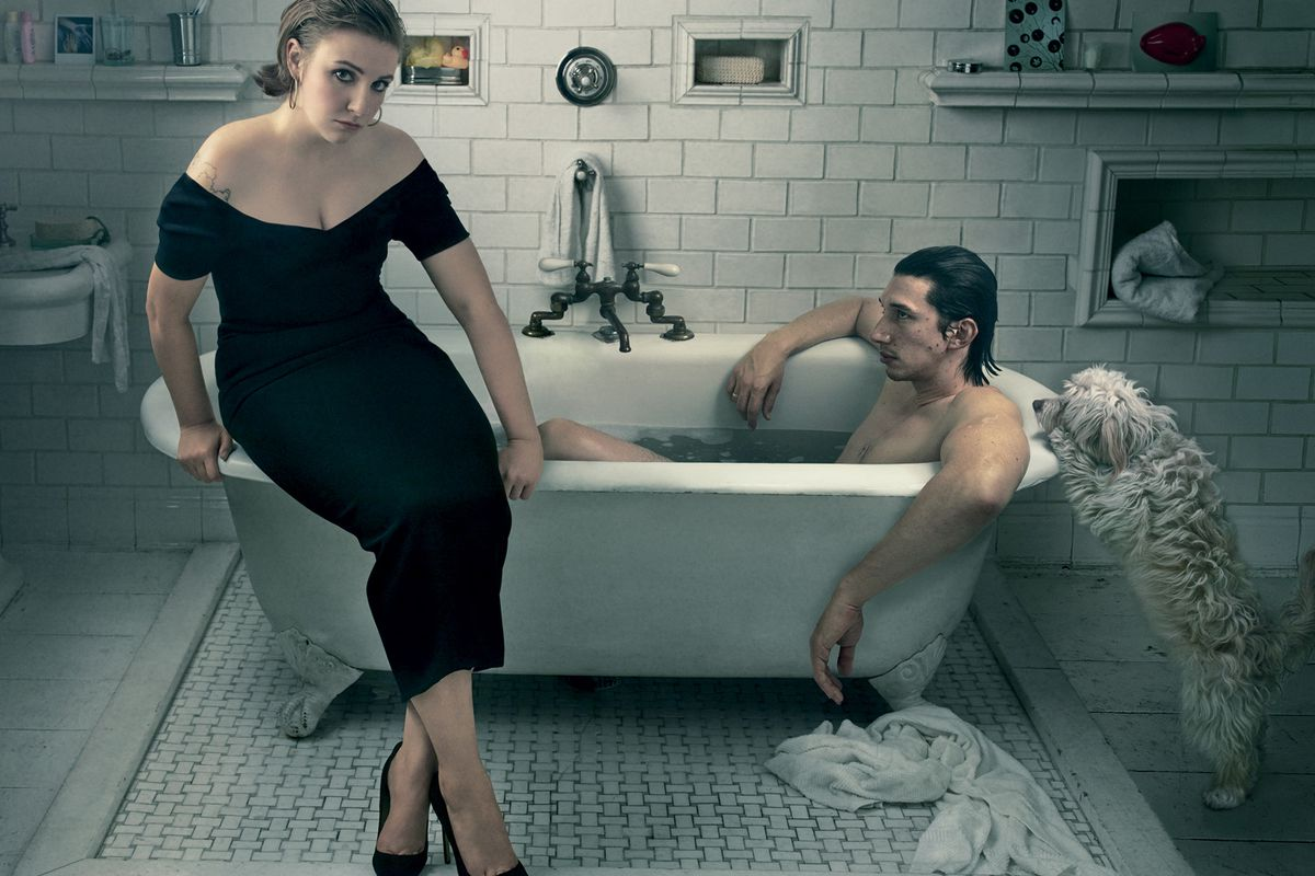Photographed by Annie Leibovitz for Vogue.