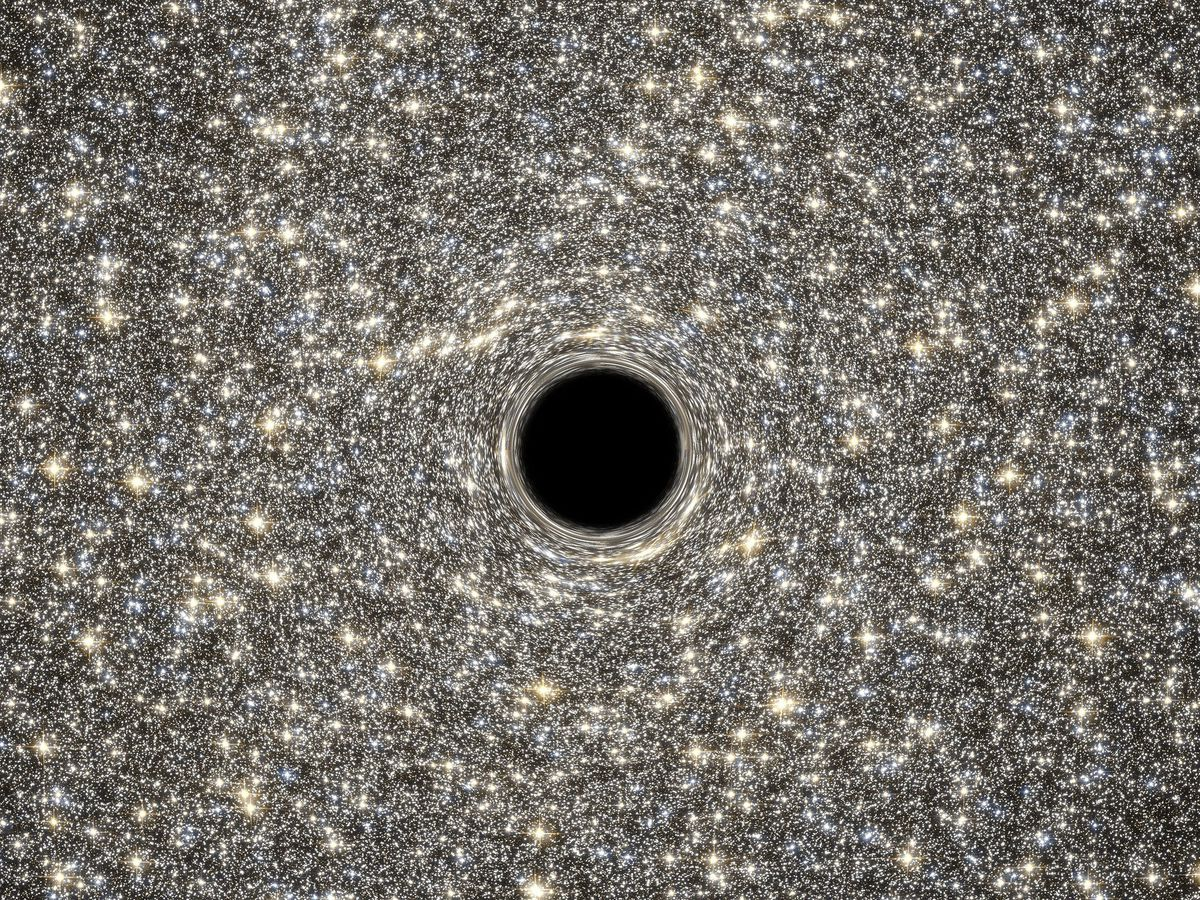 Most Images Of Black Holes Are Illustrations Here S What Our Telescopes Actually Capture Vox