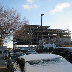 Sun 1/10: new buildings, view from Seminary -