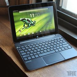 The HP SlateBook x2, an Android detachable computer with a Tegra 4 processor.